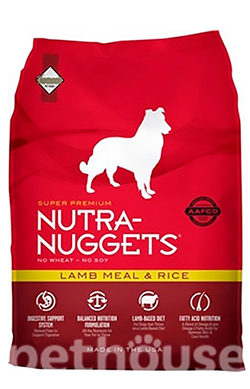 Nutra Nuggets Dog Lamb & Rice , фото