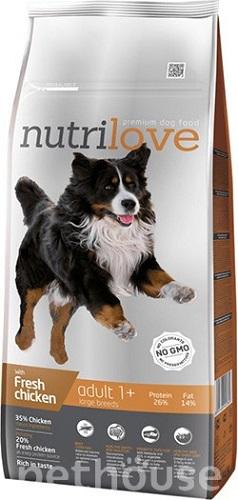 Nutrilove Dog Adult Large сухой корм для собак  купить в Киеве, цена -  184 грн в Украине | Pethouse.ua