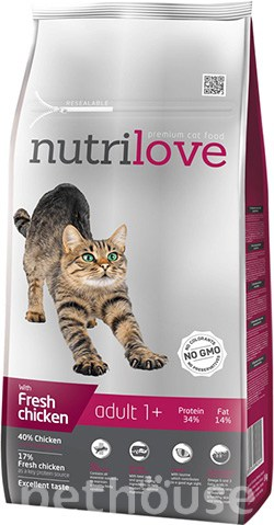 Nutrilove Cat Adult, фото