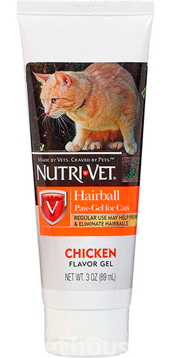 Nutri-Vet Hairball Paw-Gel for cats, фото