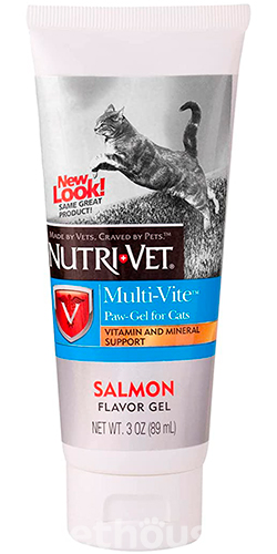 Nutri-Vet Multi-Vite Paw-Gel for cats, фото