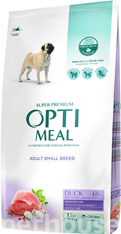 Optimeal Dog Adult Small , фото