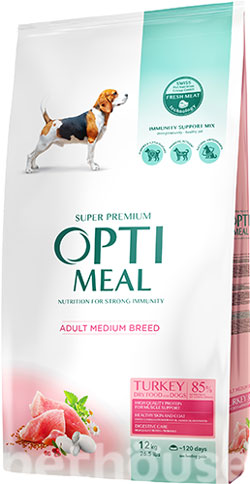 Optimeal Dog Adult Medium , фото