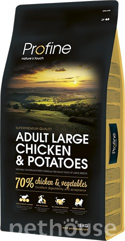 Profine Dog Adult Large Breed Chicken & Potatoes, фото
