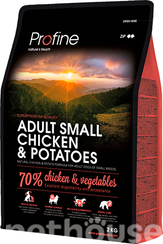 Profine Dog Adult Small Breed Chicken & Potatoes