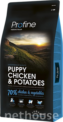 Profine Puppy Chicken & Potatoes, фото