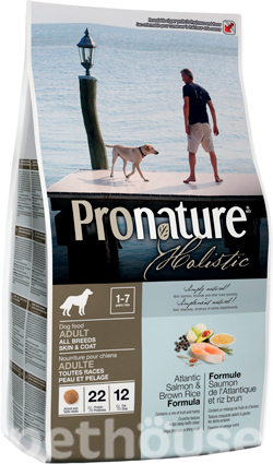Pronature Holistic Dog Atlantic Salmon & Brown Rice, фото