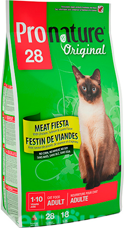 Pronature Original Cat Adult Meat Fiesta, фото