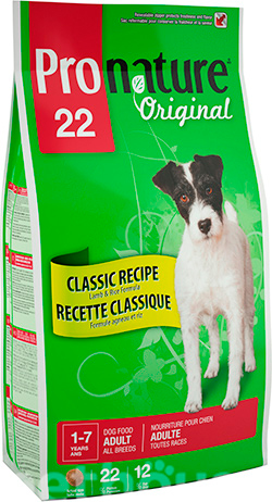 Pronature Original Dog Adult Lamb and Rice, фото