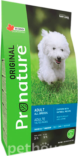 Pronature Original Dog Adult Chicken with Oatmeal