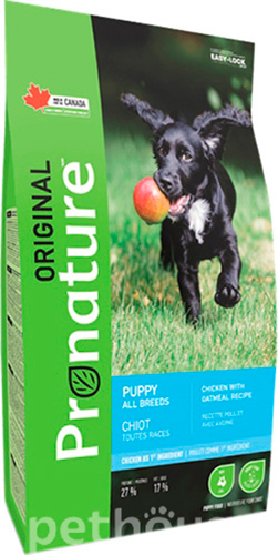 Pronature Original Puppy Chicken Oatmeal