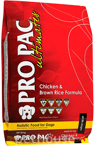Pro Pac Ultimates Dog Chicken & Brown Rice Formula