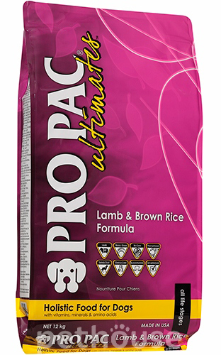 Pro Pac Ultimates Dog Lamb & Brown Rice Formula, фото 2