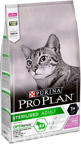 Purina Pro Plan Cat Adult Sterilised Turkey, фото 2