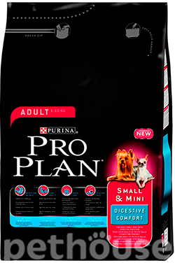 Purina Pro Plan Dog Adult Small and Mini Digestive Comfort, фото