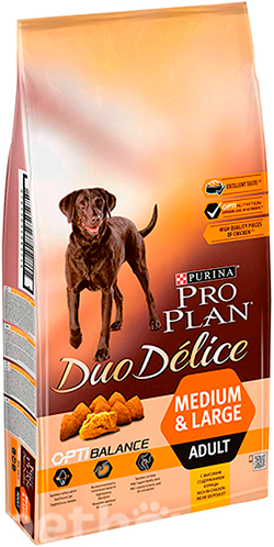 Purina Pro Plan Duo Delice Adult Dog Chicken and Rice, фото