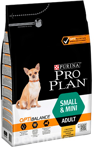 Purina Pro Plan Dog Adult Small and Mini OptiHealth, фото 2