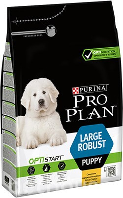 Purina Pro Plan Puppy Large Robust OptiStart, фото