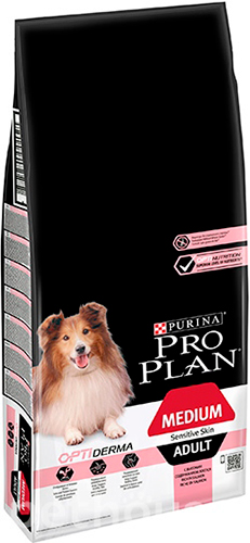 Purina Pro Plan Dog Adult Medium Sensitive Skin OptiDerma