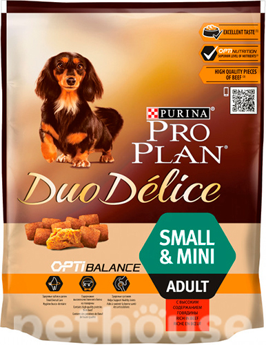 Purina Pro Plan Duo Delice Adult Small & Mini Beef