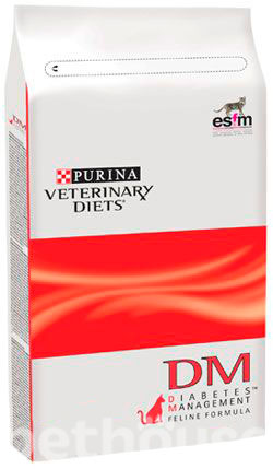 Purina Veterinary Diets DM - Diabetes Management Feline, фото