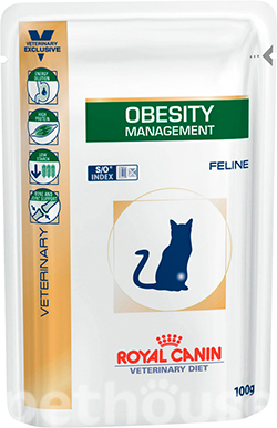 Royal Canin Obesity Feline Pouches, фото
