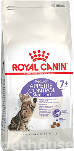 Royal Canin Sterilised 7+ Appetite Control, фото