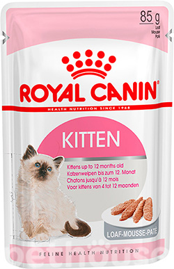 Royal Canin Kitten в паштете, фото