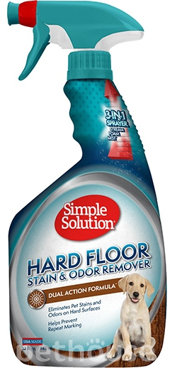 Simple Solution Hardfloors Stain and Odor Remover - нейтрализатор запаха и пятен для пола, фото