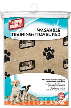Simple Solution Washable Training Travel Pads - многоразовые пеленки для собак, фото