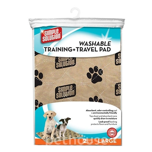 Simple Solution Washable Training Travel Pads - многоразовые пеленки для собак, фото 2