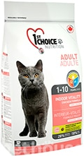 1st Choice Cat Adult Indoor Vitality Short hair