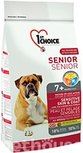 1st Choice Senior Sensitive Skin & Coat All Breeds
