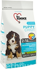 1st Choice Puppy Medium and Large Breeds