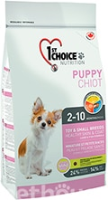 1st Choice Puppy Toy and Small Breeds Healthy Skin & Coat