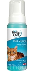 8in1 Shed Control Foaming Waterless Shampoo - шампунь-пена для кошек