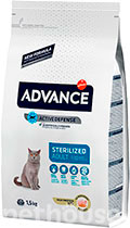 Advance Cat Sterilized Turkey & Barley
