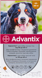 Bayer Advantix для собак от 40 до 60 кг