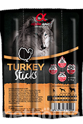 Alpha Spirit Turkey Sticks - лакомство с индейкой для собак