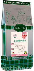 Baskerville Grain Free Dog Adult Beef