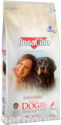 BonaCibo Dog Adult High Energy Chicken & Rice with Anchovy