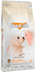 BonaCibo Puppy Chicken & Rice with Anchovy