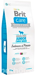 Brit Care Grain Free Junior Large Breed Salmon & Potato