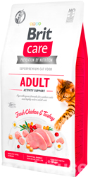 Brit Care Cat Grain Free Adult Activity Support