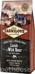 Carnilove Dog Adult Lamb & Wild Boar