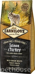 Carnilove Dog Adult Large Breed Salmon & Turkey