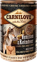 Carnilove Grain Free Dog Adult с северным оленем