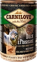 Carnilove Grain Free Dog Adult с уткой и фазаном