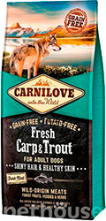 Carnilove Dog Fresh Adult Carp & Trout