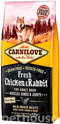 Carnilove Dog Fresh Adult Chicken & Rabbit